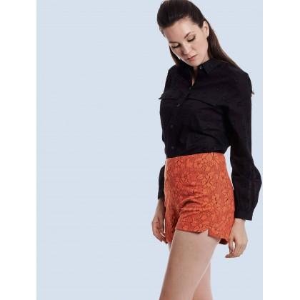 black long sleeve minimalist tops