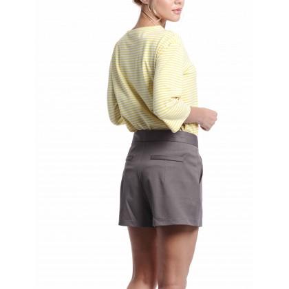 brown regular pants