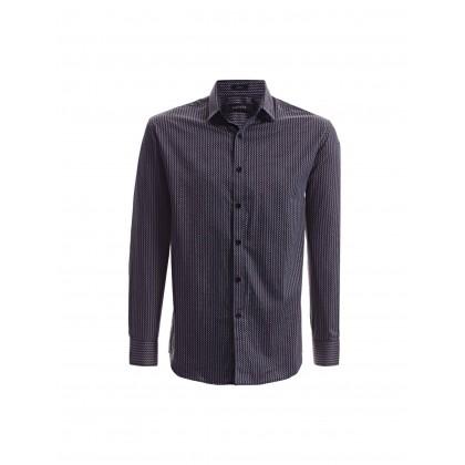 black long sleeve psychedelic shirt