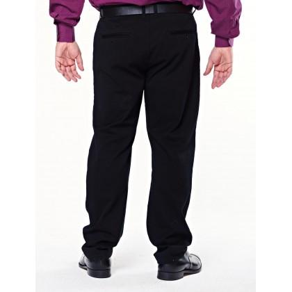 black regular twill woven bottom